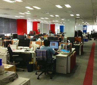 素敵なオフィス環境
