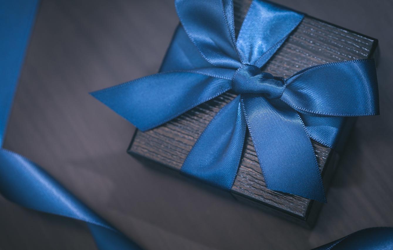 社長からの贈り物