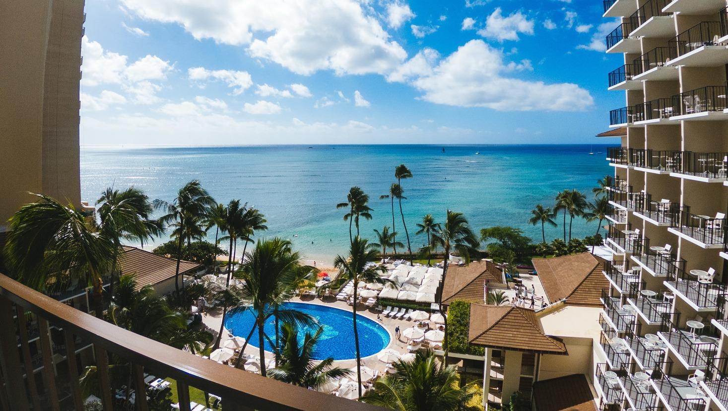 ハワイのオーシャンビュー