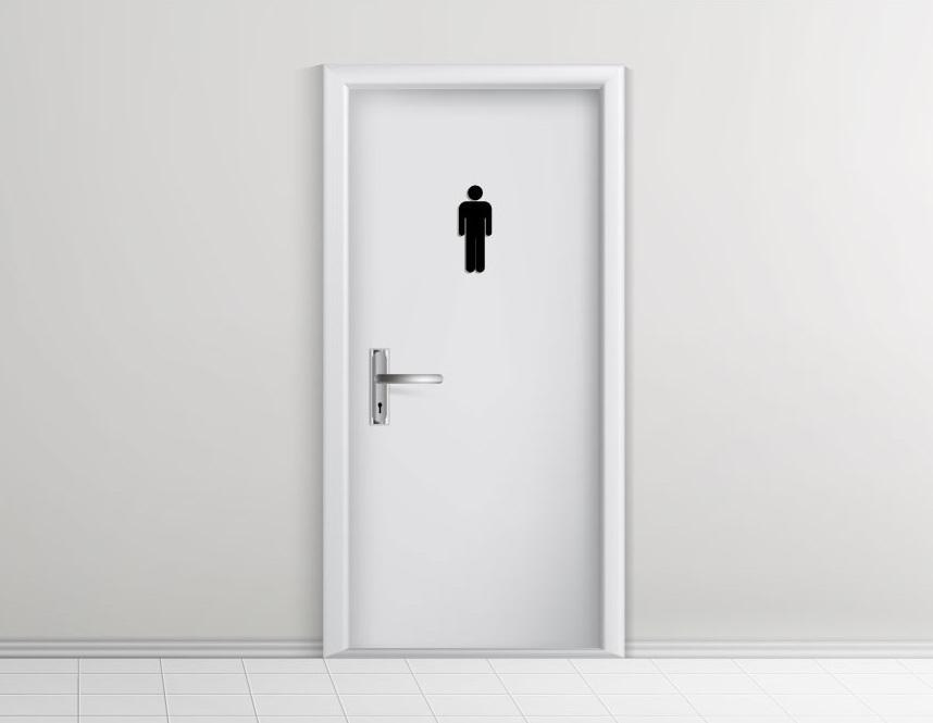 トイレ掃除はセクハラ